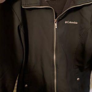 Columbia Black Softshell Jacket